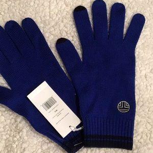 Tory Burch merino tech gloves New M/L